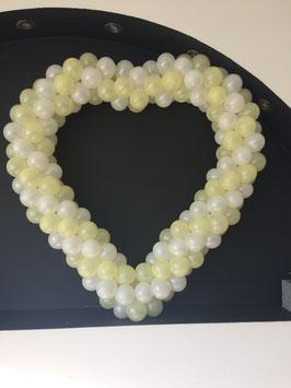 Coeur Photo Booth Coeur en Ballons