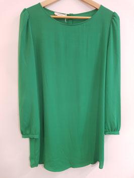 Robe vert Odette BASH