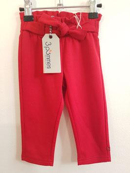 Pantalon rouge 3POMMES