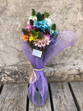Bouquet de Ornithogalums mix, una flor de temporada muy duradera