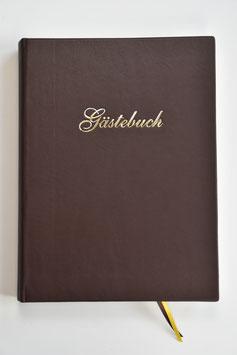 Großes Gästebuch Leder