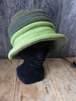 Chapeau en tissu polaire 3verts