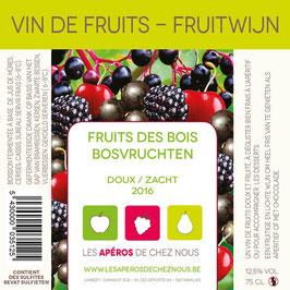 Vin de fruits des bois DOUX 2016