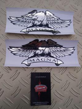 stickers chromés : modèle magna