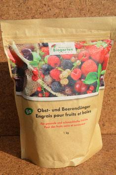Biodünger für Obstbäume und Beerensträucher