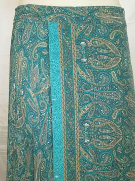 Jupe Longue + Top Turquoise Kasmirs