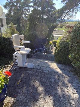 Außen-Treppenlift (kurvig)