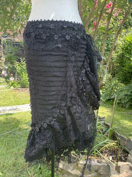 Wickelrock Schwarz Einheitsgröße