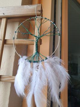 Lebensbaum mit Federn