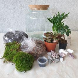 DIY pakket ~ Ecosysteem Vaas recht S+ video tutorial