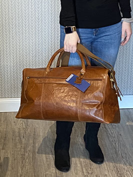 Springfield Reisetasche Cognac Leder