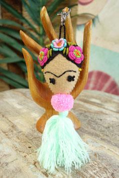 Frida Kahlo Schlüsselanhänger LUM-02