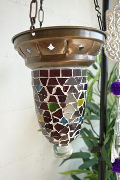 Türkische Mosaik Teelicht Hänge-Ampel OR-07