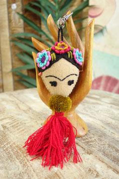 Frida Kahlo Schlüsselanhänger LUM-01