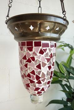 Türkische Mosaik Teelicht Hänge-Ampel OR-03