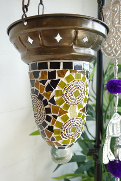 Türkische Mosaik Teelicht Hänge-Ampel OR-10