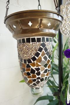 Türkische Mosaik Teelicht Hänge-Ampel OR-09