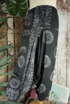 Hare Krishna Mantra Aladinhose schwarz - GU-37884