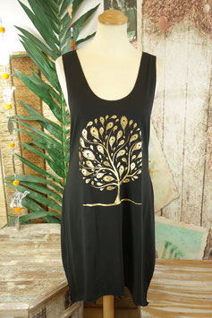 Tank Dress Gold on Black 2712.02