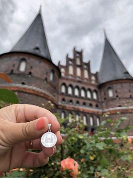 In Lübeck tohus Kettenanhänger mattiert