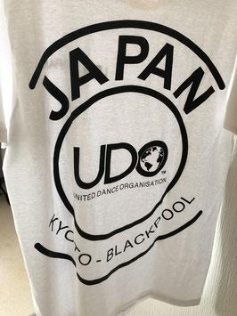 背中JAPAN柄 Tシャツ ホワイト☆2019