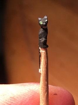 Katze / Zahnstocher