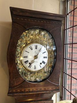 Antieke staande comtoise klok