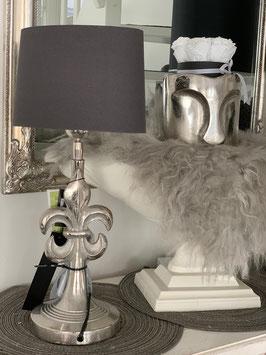 Lampe  Lilie 14x14x56 mit Schirm