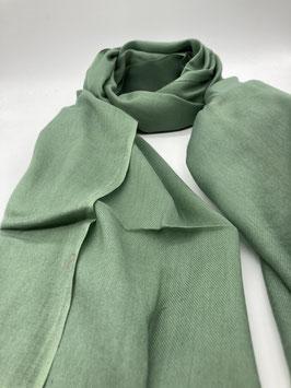 Schal aus 100% Baumwolle APFELGRÜN
