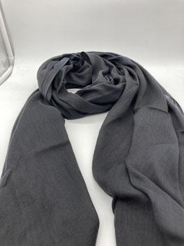 Schal aus 100% Baumwolle GRAU