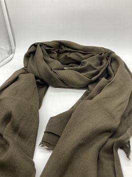 Schal aus 100% Baumwolle OLIV