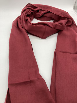 Schal aus 100% Baumwolle HIMBEERE