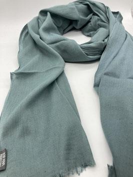 Schal aus 100% Baumwolle BLAUGRAU