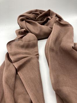 Schal aus 100% Baumwolle SAND