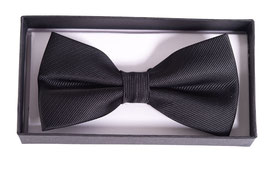 Ribbon Dance Bow Tie, Black