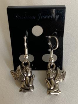 Ohrringe mit Anhänger Engel