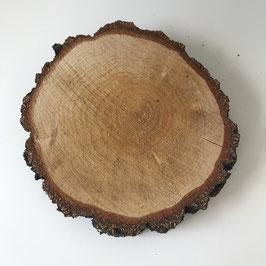 Birkenholzscheibe 18 cm rund