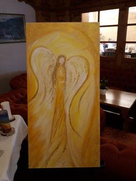 Jophiel 80x40 cm Acryl auf Leinwand