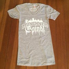 T-Shirt - Madln - Skyline - Heather Grey
