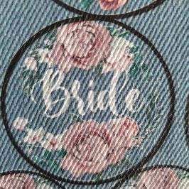 Patch Bride lettertype 3