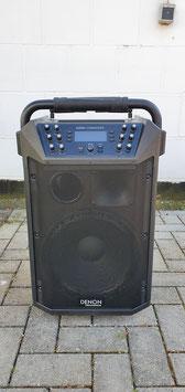 Portabler 2-Wege Akku-Lautsprecher von Denon Professional