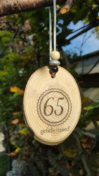 65 gefeliciteerd