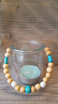 thee licht beads blauw