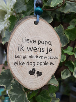 Lieve papa ik wens je.