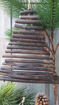 takken kerstboom hang