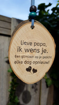lieve papa ik wens..