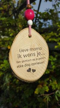 lieve mama ik wens je..