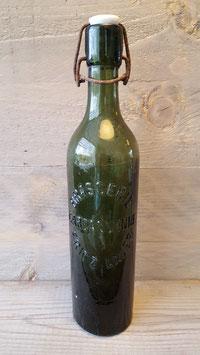 antieke fles brasserie