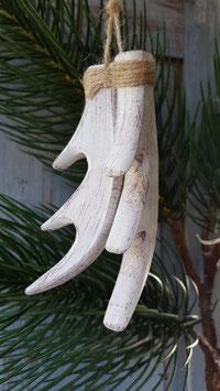 houten gewei hanger
