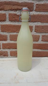 fles pastel geel